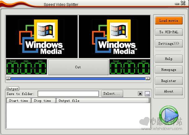 Speed Video Splitter(视频分割软件)V4.3.47 汉化绿色版_wishdown.com