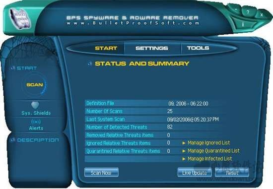 Spyware Adware Remover(反广告、间谍软件工具)v9.4.0.7 官方版_wishdown.com