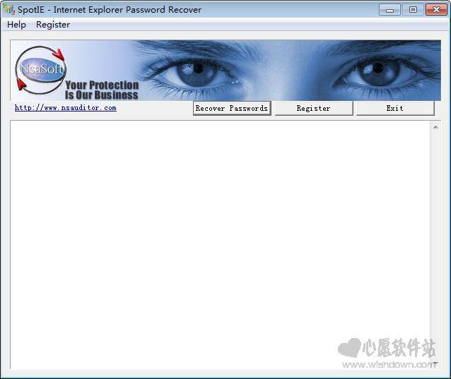 Nsasoft SpotIE (找回在网页中自动保存的密码) V1.8 英文绿色特别版