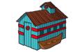 世界各式房屋模型图标