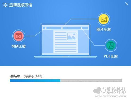 迅捷视频压缩软件v1.0.3.1官方最新版_www.rkdy.net
