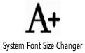 System Font Size Changer v1.1.1.2绿色单文件版