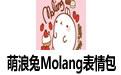 萌浪兔Molang表情包 高清版