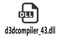 d3dcompiler_43.dll 64位