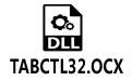 TABCTL32.OCX (支持win10/xp/win7)