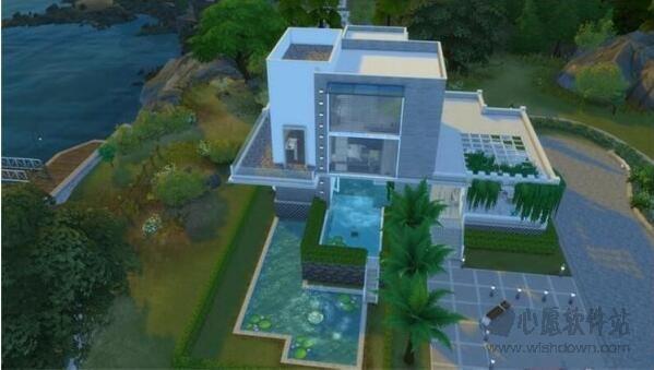 模拟人生4现代居家别墅mod 最新版