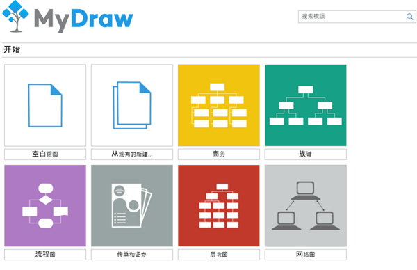 MyDraw(思维导图软件) v2.3.1 绿色版