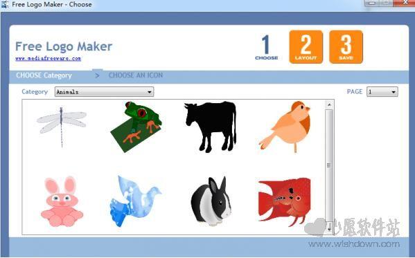 free Logo Maker(图标制作)v1.0 免费版_wishdown.com