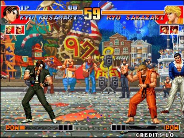 拳皇97模拟器游戏截图