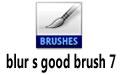 blur s good brush 7 (杨雪果CG绘画笔刷)