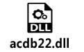 acdb22.dll 附修复教程