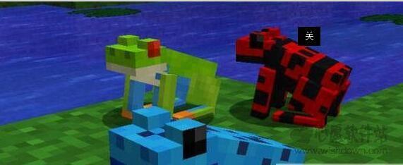 我的世界更多动物造型补丁 绿色版