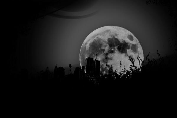 真实的月亮、月球效果PS素材笔刷 abr格式版
