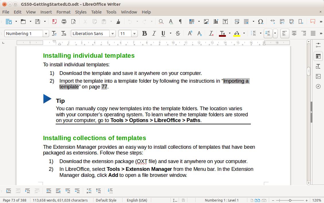 LibreOffice_办公软件套件v6.1.1 官方中文版_wishdown.com