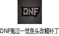 DNF鬼泣一觉鱼头改鲲补丁 2018绿色版
