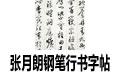 張月朗鋼筆行書字帖(古詩文作品欣賞) 共26張