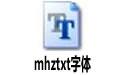mhztxt字体