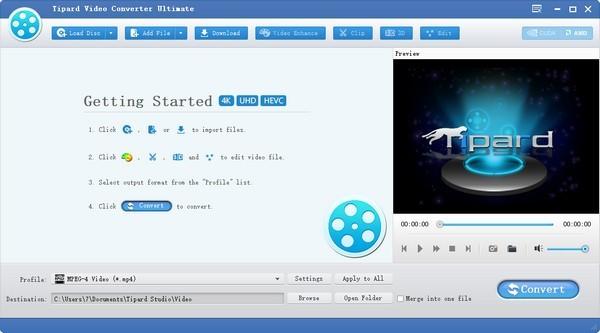 Tipard Video Converter(多功能视频转换器) v9.0.8免费版