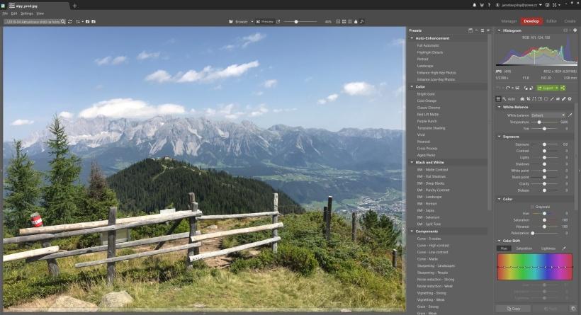 Zoner Photo Studio X_照片处理软件v19.1806.2.74 官方版_wishdown.com