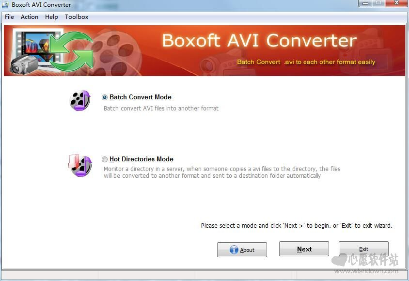 Boxoft AVI Converter(AVI格式转换器) v1.0官方版