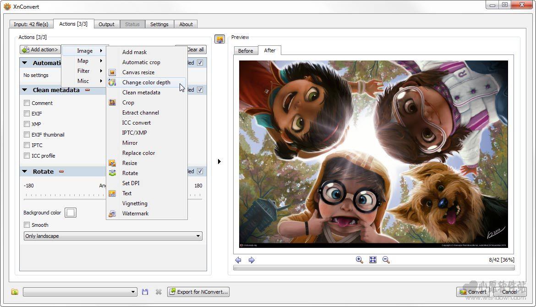格式图片转换器64位(xnconvert) v1.77 免费版