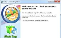 Clock Tray Skins(系统托盘时钟调整) V4.20英文绿色特别版