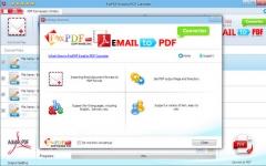 邮件转换成PDF转换器 v3.0官方版