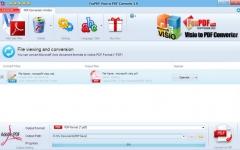 Visio转换到PDF转换器 v3.0官方版