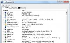 Free PC Audit(硬件、软件信息查看工具) V3.5 英文绿色版