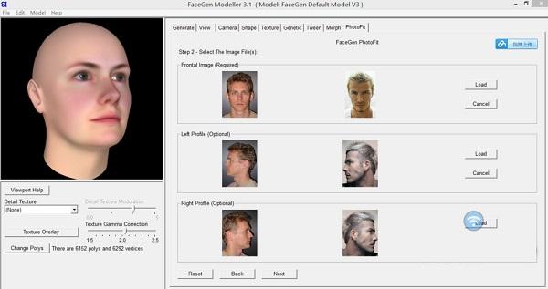 FaceGen Modeller(3D头像生成器)V3.6 汉化版