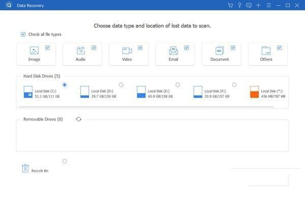 Apeaksoft Data RecoveryV1.1.8 电脑版