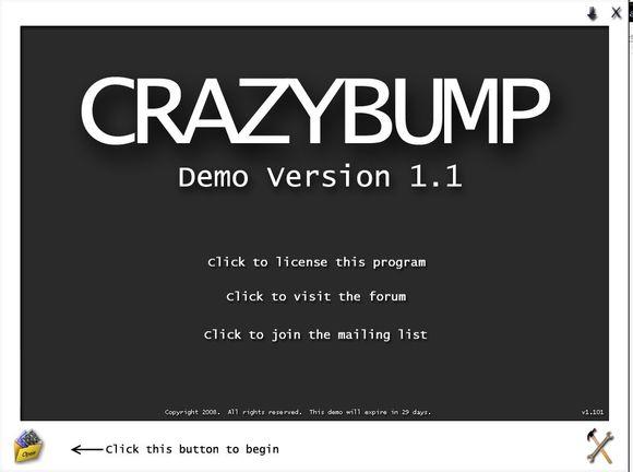 CrazyBump(法线贴图制作软件)V1.2 电脑破解版
