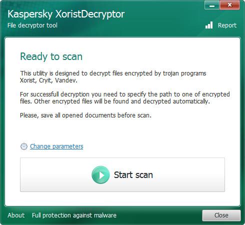 XoristDecryptorV2.3.44.0 电脑绿色版