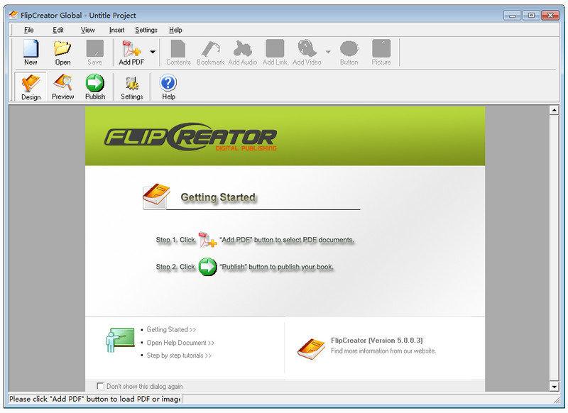 Alive Software FlipCreator(电子书刊制作软件)V5.0.0.8 电脑破解版