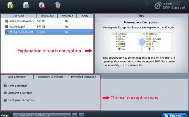 Leawo SWF Encrypt(SWF加密工具)V1.2 电脑版