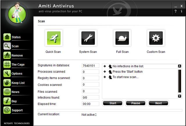 Amiti AntivirusV25.0.330 电脑破解版