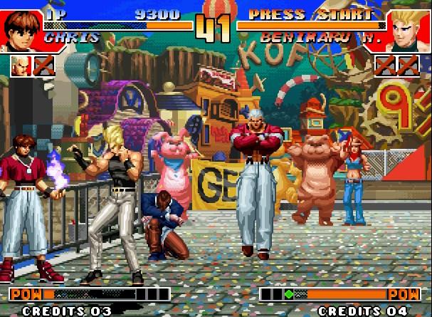 拳皇97无限能量版V1.01 电脑版