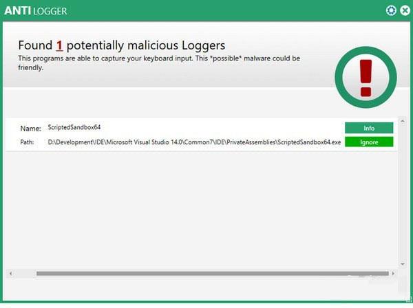 Abelssoft AntiLogger(反间谍软件)V3.0 电脑版