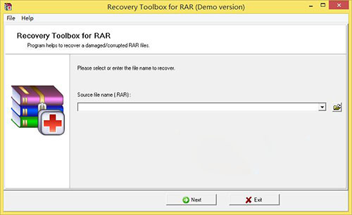Recovery Toolbox For RAR(rar文件修复工具)V3.0 电脑版