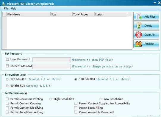 Vibosoft PDF Locker(PDF加密软件)V2.2.7 电脑版