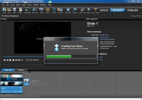 Photodex Proshow producer(电子相册制作软件)V9.0.3797 电脑破解版