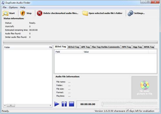 Duplicate Audio Finder(重复音频查找器)V1.0.23.50 电脑版