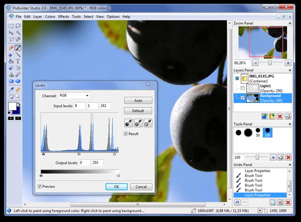 PixBuilder Studio(迷你图像编辑工具)V2.2.0 电脑版