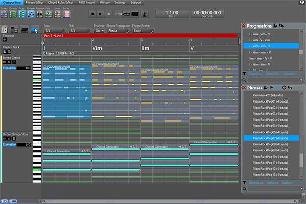 RapidComposer(音樂原型設計軟件)V3.5 電腦版