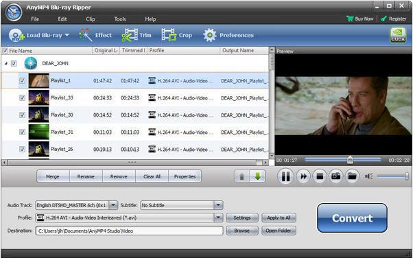 AnyMP4 Bluray Ripper(蓝光视频转换工具)V7.2.30 电脑版