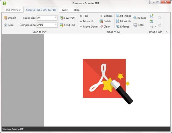 Freemore Scan to PDF(掃描轉PDF軟件)V10.8.1 電腦版