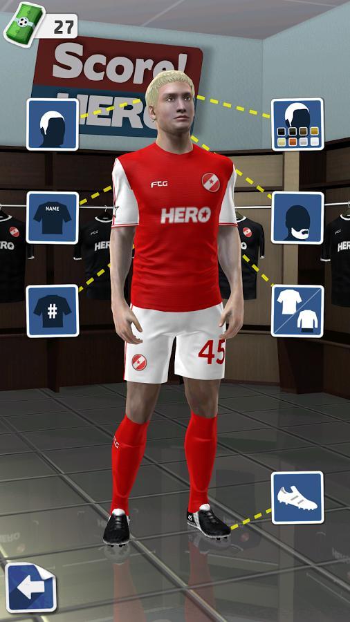 足球英雄Score!Hero