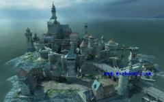 气势恢宏的中世纪城堡3D屏保