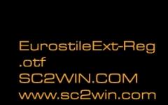 星际争霸2字体包 星际争霸科幻风格字体