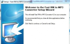 RM to MP3 Converter(rm转mp3格式转换器) v4.2汉化版